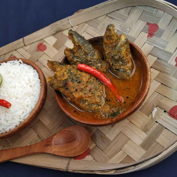 Sand fish with mustard, where is the oil, Magur the egg --- the rare cooking address of Bengalis