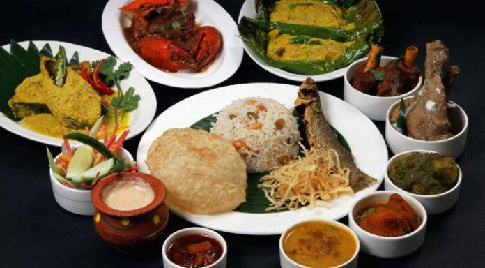 The wedding feast of Bengalis has changed radically