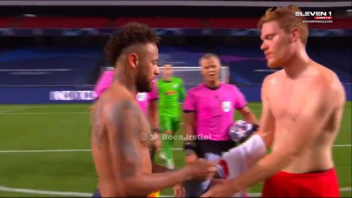 Neymar can be deported by exchanging jerseys