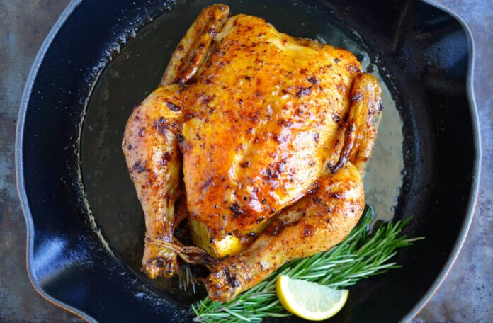 Not surprisingly, chicken roast is still available in Kolkata