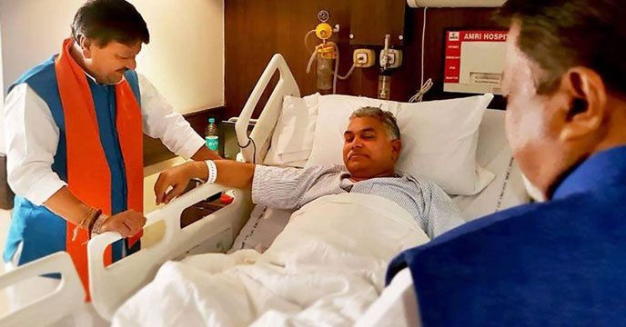 Dilip Ghosh attacked by corona