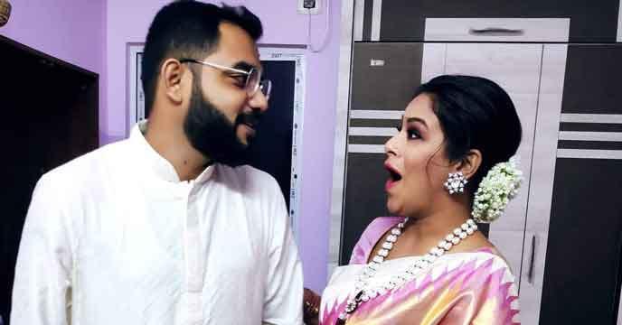 Emon's engagement before Pujo