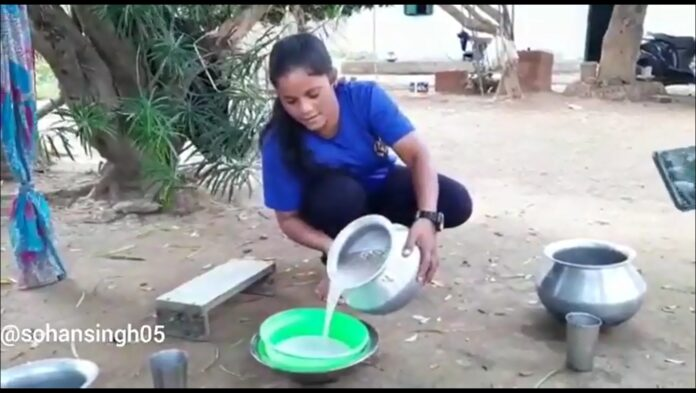 National medalist karate player in Ranchi sells rice beer for survival