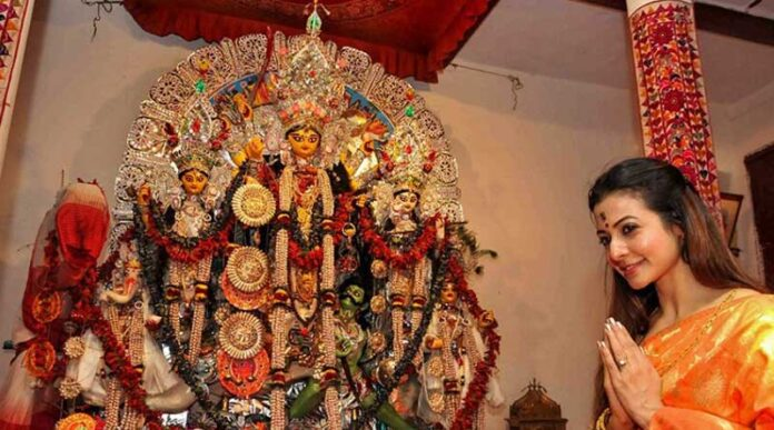 This year Mallick bari pujo is closed for general audience and media
