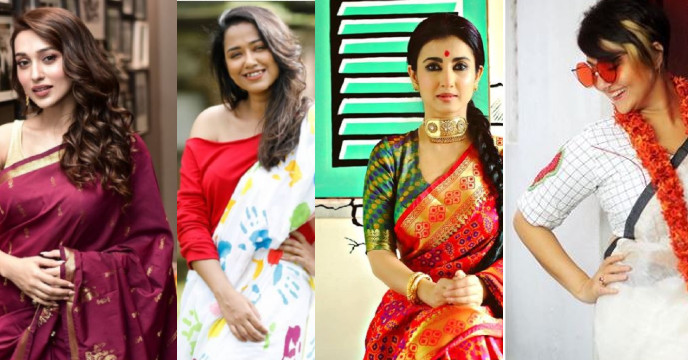 Pujo special blouses , find out at a glance