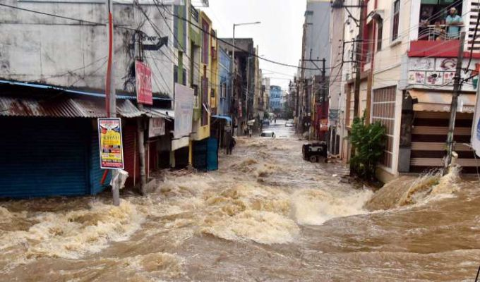 The death toll is rising in flood-ravaged Telangana