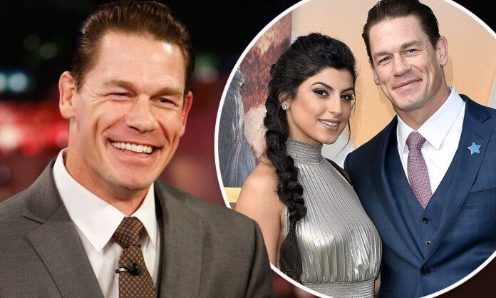 John Cena got married with his girlfriend