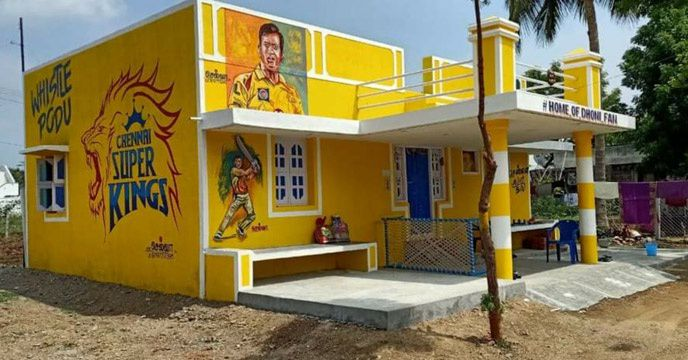 'House of Dhoni fans'