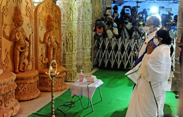 The Chief Minister inaugurated 69 Pujo from Nabanna