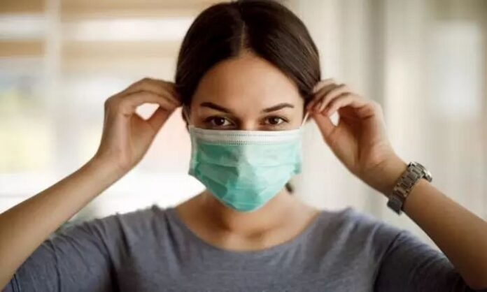 The risk of infection without a mask increases 23 times