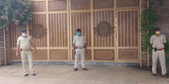 Security at Dhoni's farmhouse increased