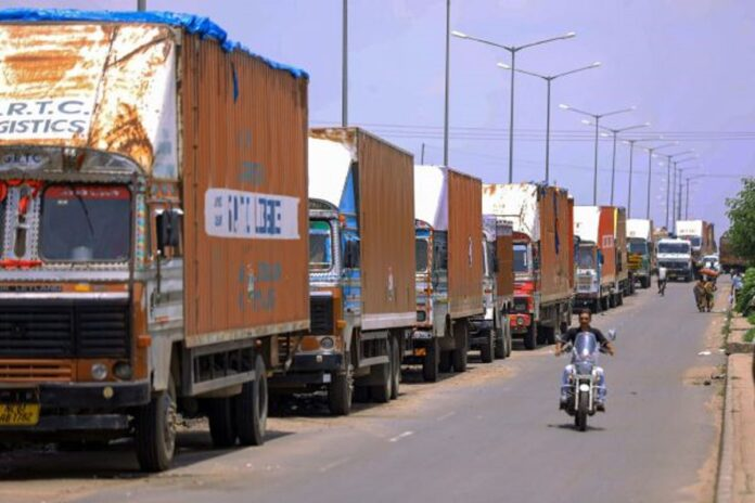 Again a three-day truck strike, the price of things could rise