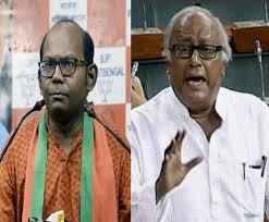 Sougata vs Sayantan fight on PM's speech