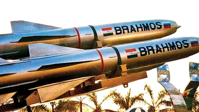 The perfect target is the BrahMos supersonic missile