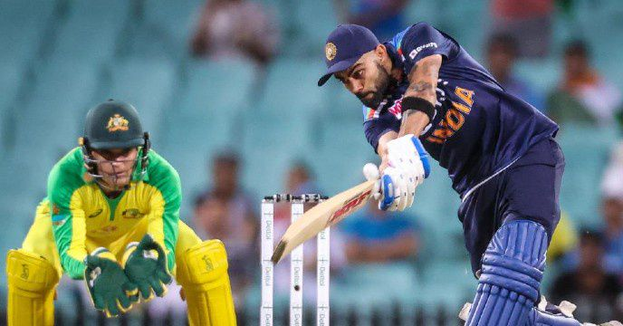 In international cricket, Virat Kohli completed 22 thousand runs