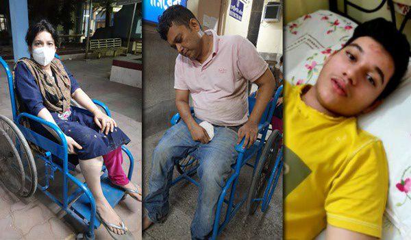 The miscreants beat the professor couple and fled in Kolkata