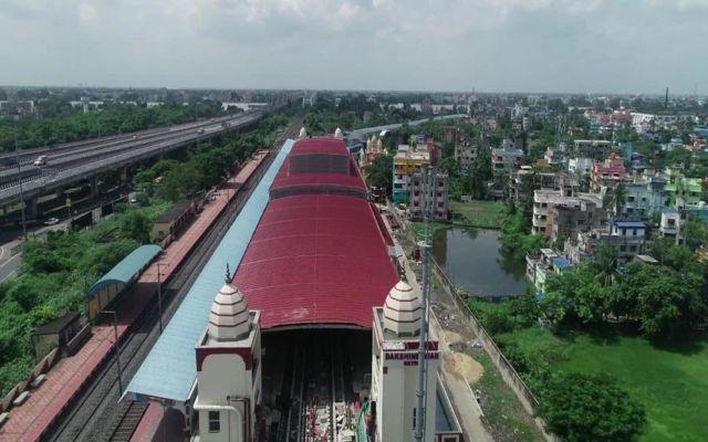 Metro trial run from Noapara to Dakshineswar