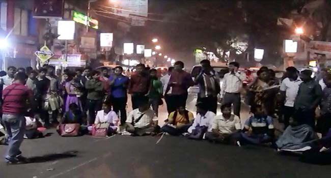 Overnight protests surrounding teacher recruitment