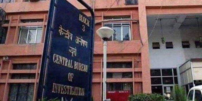 CBI officials are conducting simultaneous searches in ten places in the state