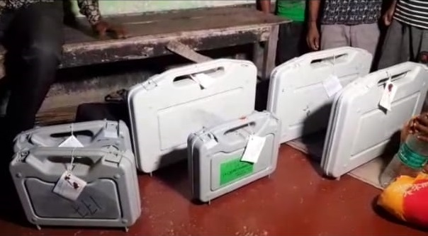 EVM, VV PAD machine rescued from Trinamool leader's house