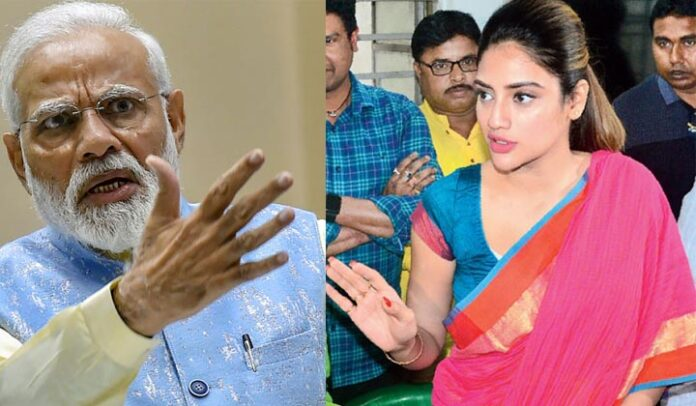 Thousands of rupees are being brought to Modi's meeting' , Nusrat Jahan