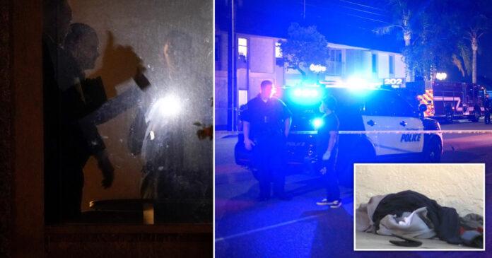 Gunman attack in California , Four Died